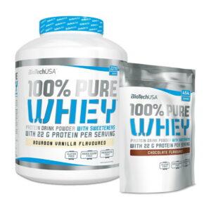 Купить 100% Pure Whey (2,724 кг) от BiotechUSA