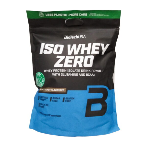 Купить Iso Whey Zero (1,81 кг) от BiotechUSA