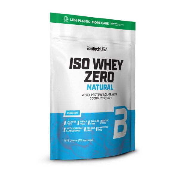 Купить Iso Whey Zero Natural (1,816 кг) от BiotechUSA