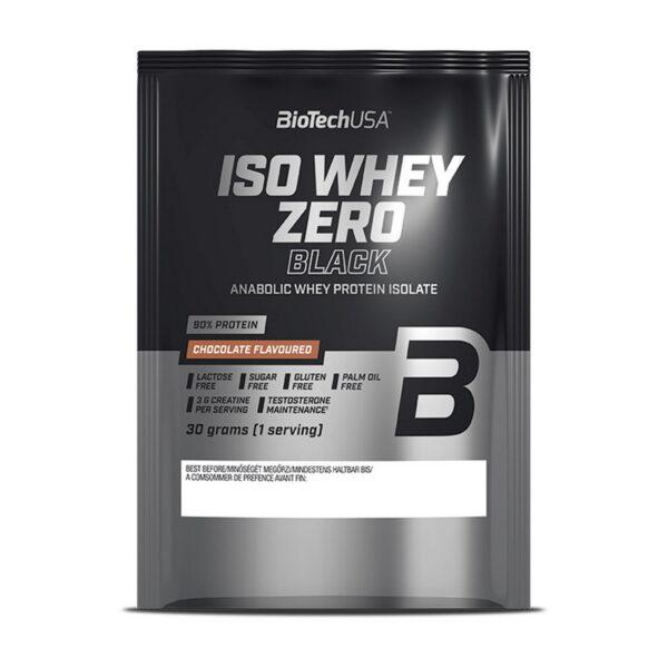Купить Iso Whey Zero Black (30 гр) от BiotechUSA